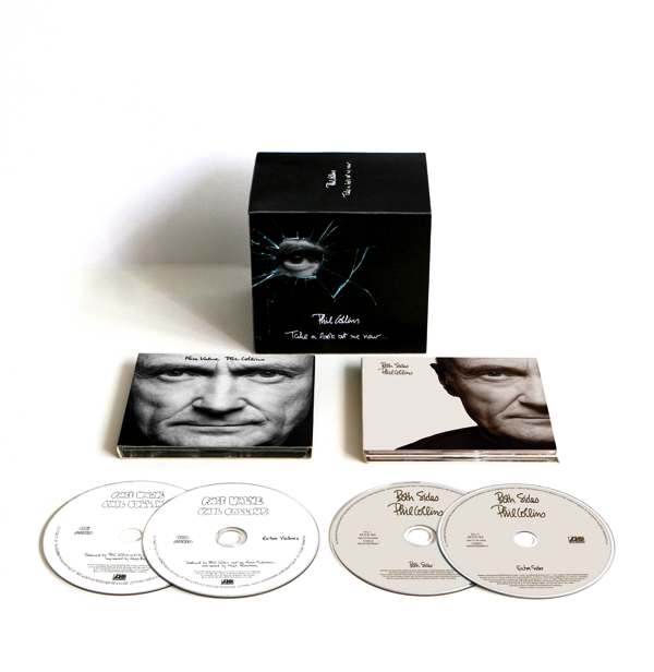 Phil-Collins face value both sides box rezension