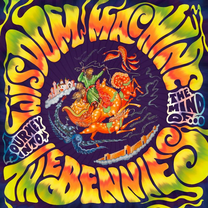 The Bennies_Wisdom Machine_Albumcover