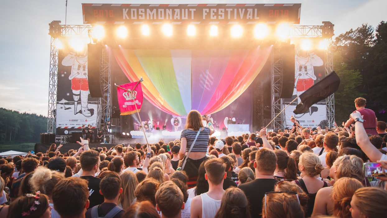 Kosmonaut Festival 2016 - Samstag - Photo: Stephan Flad