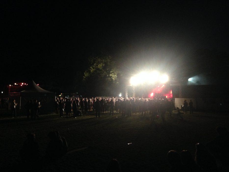 Das Publikum auf Festivals Nervt!