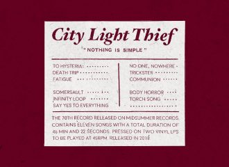 City Light Thief - Nothing Is Simple