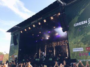 Leoniden, Green Juice Festival 2018 Bonn