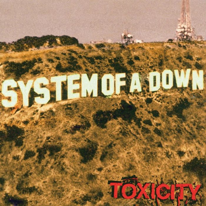 System Of A Down_Toxicity_Albumcover