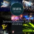 Jahresrückblick Andrea 2018