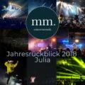 Jahresrückblick Julia 2018