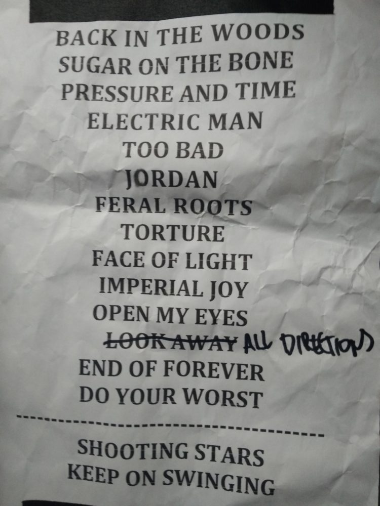 Setlist Rival Sons