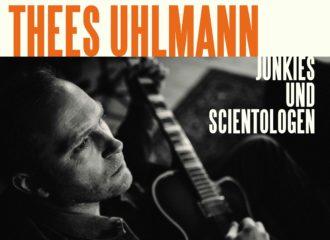 """Albumcover """"Junkies und Scientologen"""" von Thees Uhlmann"""