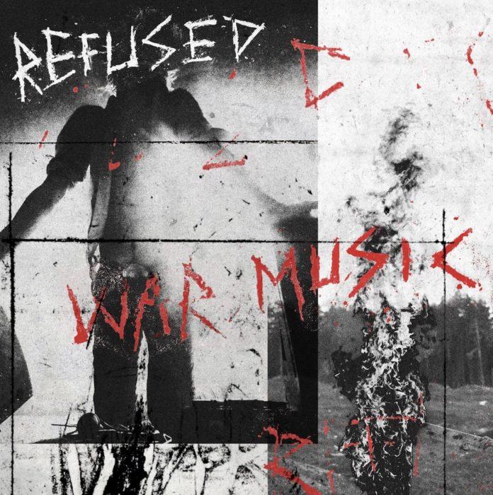 """Cover von Refuseds """"War Music""""."""