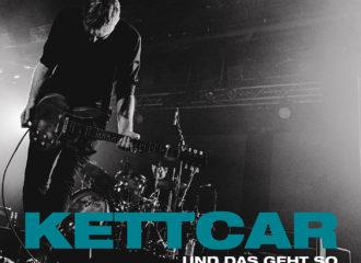 """Cover von Kettcars erstem richtigen Live-Album """"...Und Das Geht So"""""""