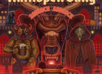 "Cover des Albums ""Abbruch Abbruch"" der Antilopen Gang"