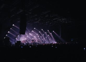Foto von den Editors am 31.01.2020 in der Mitsubishi Electric Halle in Düsseldorf