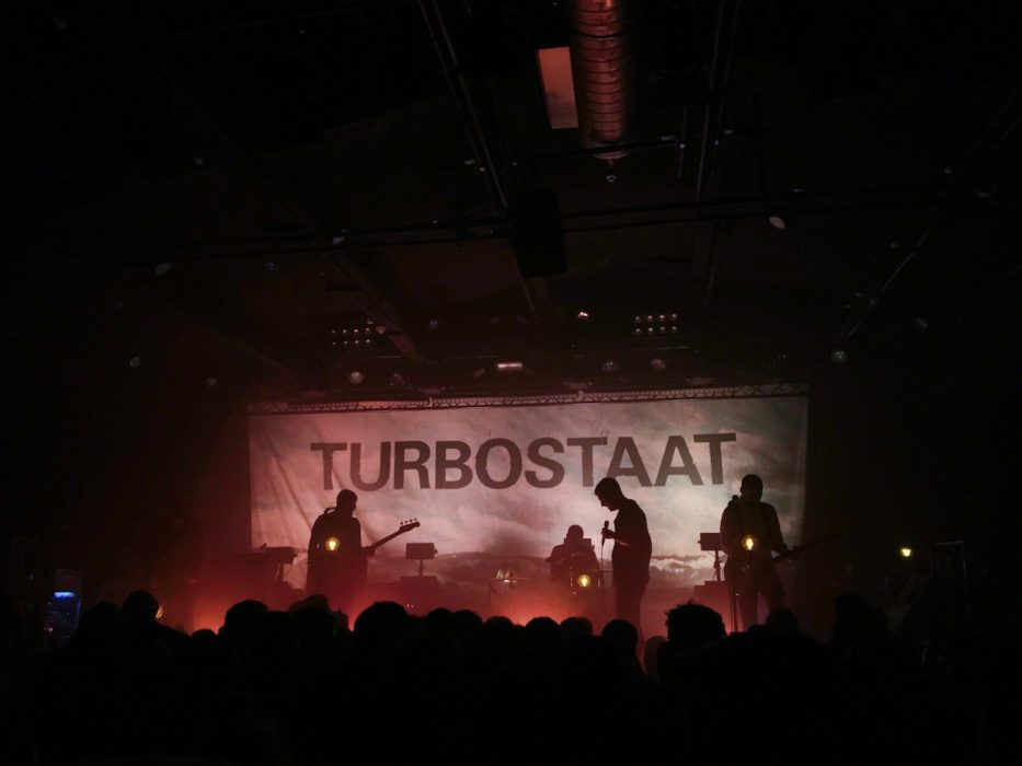 Turbostaat live in der Kölner Kantine am 14.02.2020.