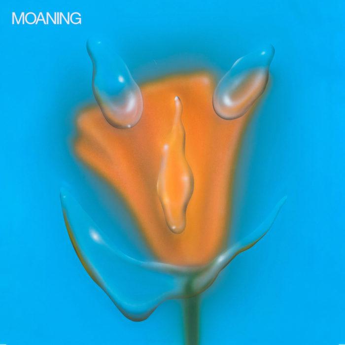 """Cover von Moanings """"Uneasy Laughter"""", das am 20.03 über Subpop erscheint."""