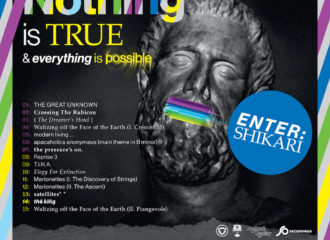"Cover von Enter Shikaris sechstem Album ""Nothing Is True & Everything Is Possible"""