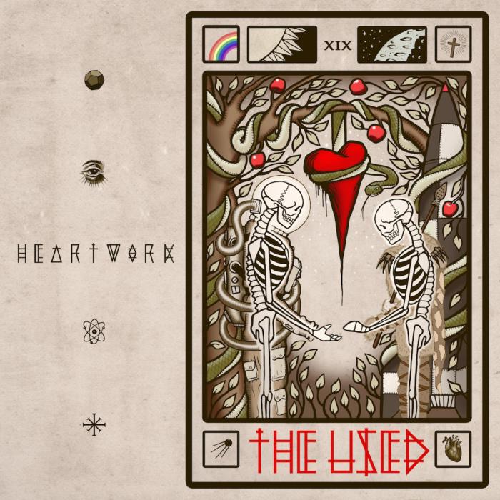 "Cover von The Useds sechstem Album ""Heartwork"""