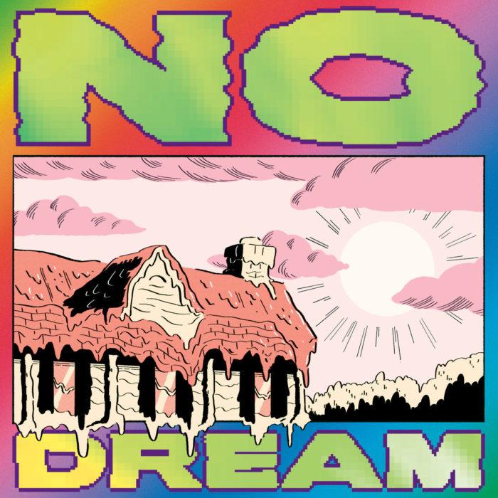 "Cover von Jeff Rosenstocks viertem Soloalbum ""NO DREAM""."