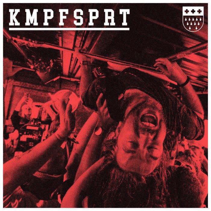 Cover von Kmpfsprts Hardcore Seven-Inch.