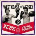 "Cover von Frank Turners und NOFX Split-Album ""West Coast Vs. Wessex"""