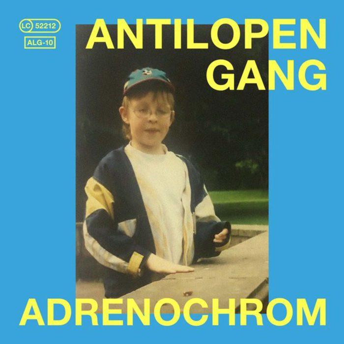 """Cover von """"Adrenochorm"""", dem Überraschungsalbum der Antilopen Gang"""