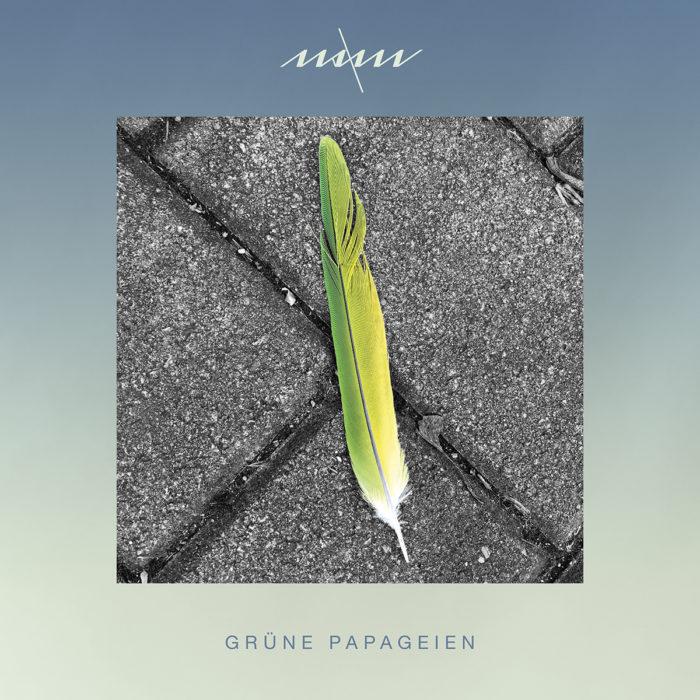 "Cover von Maxims Album ""Grüne Papageien""."