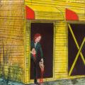 """Cover von Zugezogen Maskulins viertem Studioalbum """"10 Jahre Abfuck"""". Cover von Daniel Richter."""