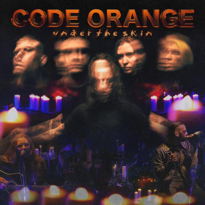 """Cover von Code Orange Streaming-Album """"Under The Skin""""."""