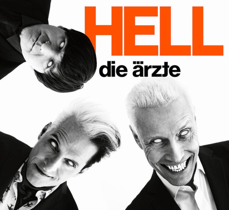 """Cover des vierzehnten Die Ärzte-Albums """"Hell""""."""