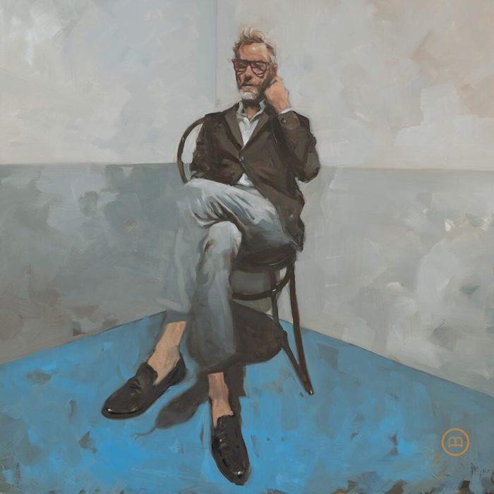 """Cover von Matt Berningers Solo-Debüt """"Serpentine Prison""""."""