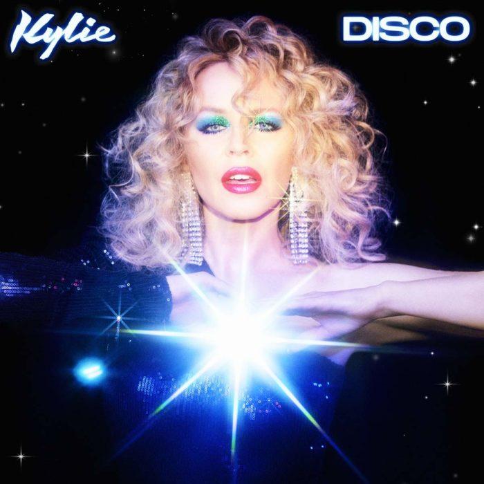 """Cover von Kylie Monogues neuem Album """"Disco""""."""