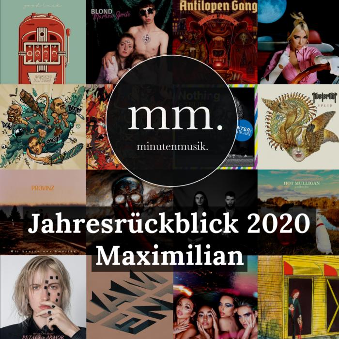 Autor Maximilian blickt zurück: Neben Alben von Kvelertak und Touché Amoré haben ihn Songs von Sólstafir und Refused durch 2020 gebracht.