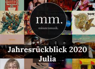 Julias Jahresrückblick: Das Beste von 2020 mit Dua Lipa, Grimes, Hayley Williams, Tones and I, Mine, Idles und Creeper.