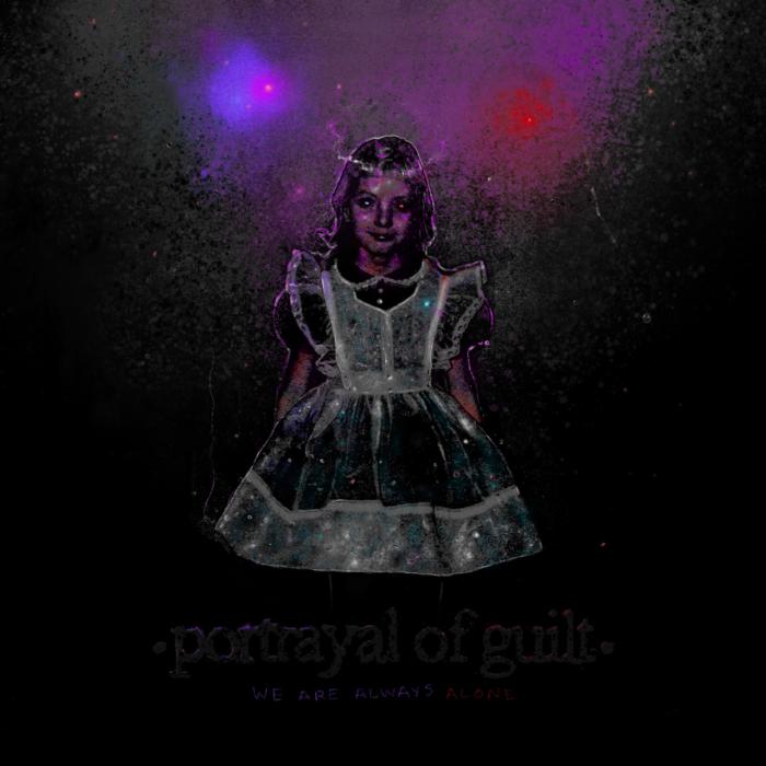 """Review: Portrayal Of Guilt treiben ihren nihilistischen Brachial-Hardcore auf """"We Are Always Alone"""" in die Extreme."""