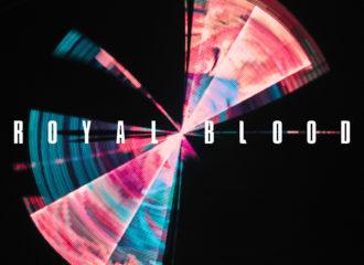 "Cover des dritten Royal Blood Albums ""Typhoons""."