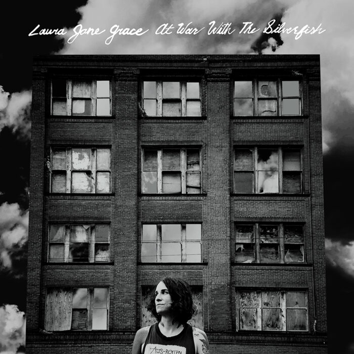 LauraJaneGrace_AtWarWithTheSilverfish_Cover